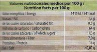 Trendy Lunch Lentejas verdes con bulgur y cebada - Información nutricional