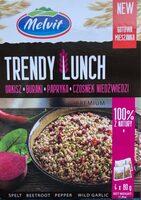 Trendy Lunch - Orkisz, Buraki, Papryka, Czosnek niedźwiedzi - Produit - fr