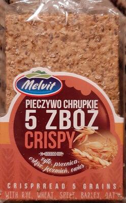 Pieczywo chrupkie 5 zbóż Crispy - Produit - pl