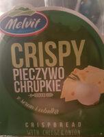 CRISPY PIECZYWO CHRUPKIE z serem i cebulką - Produkt