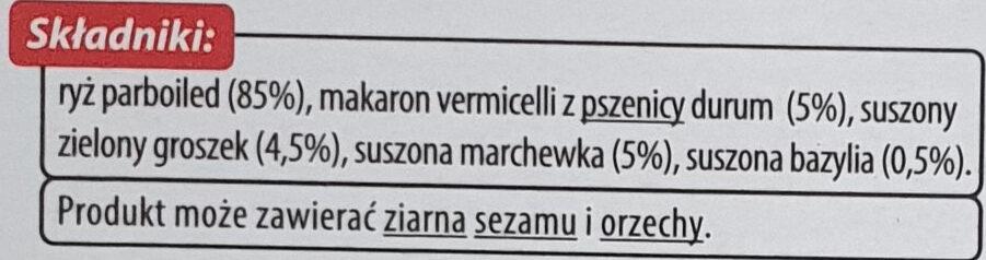 Natural Mix - Składniki - pl