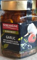 Czosnek z oliwkami i suszonymi pomidorami - Produkt - pl