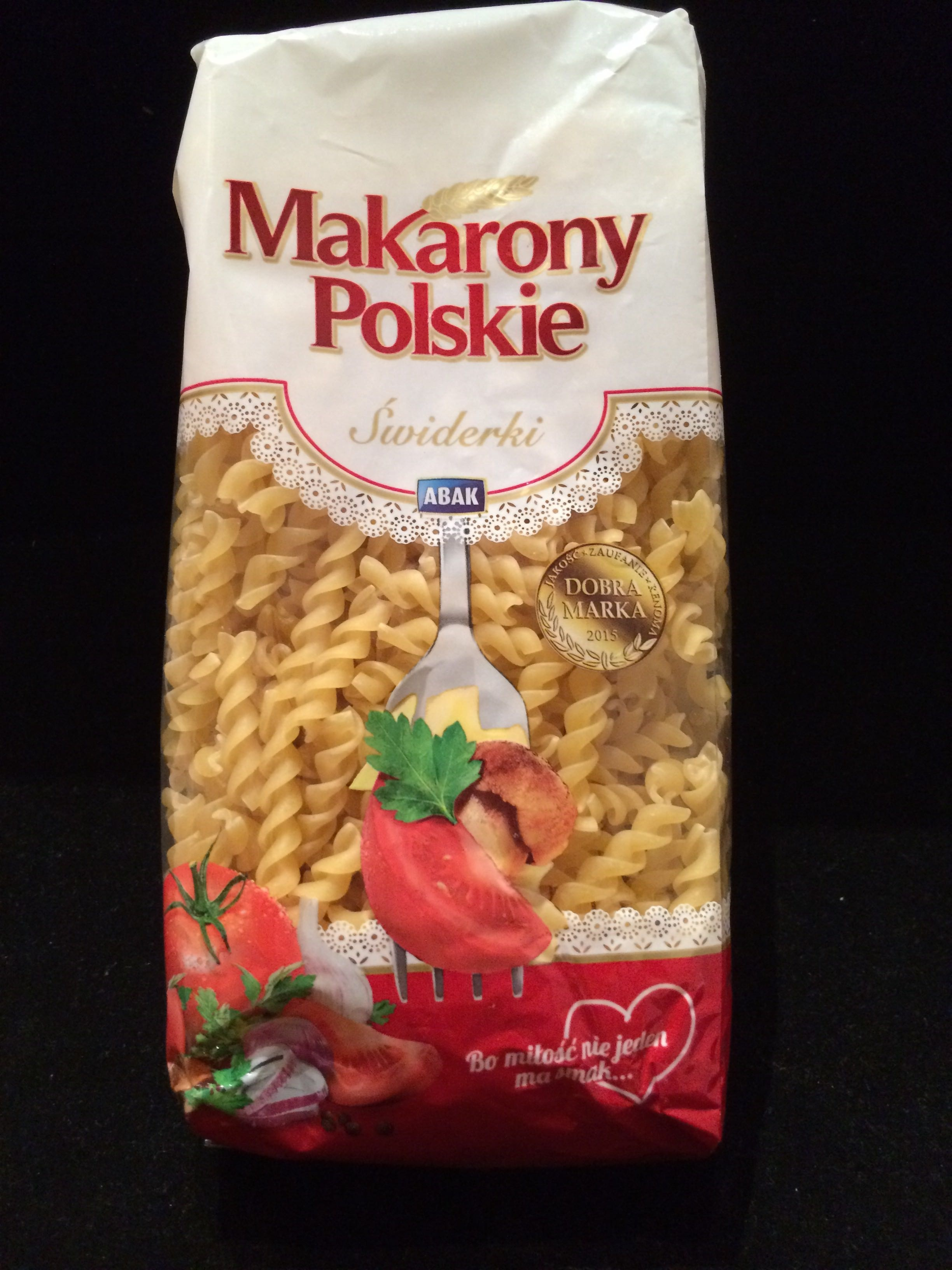 Swiderki spirals noodle pasta - Product - en