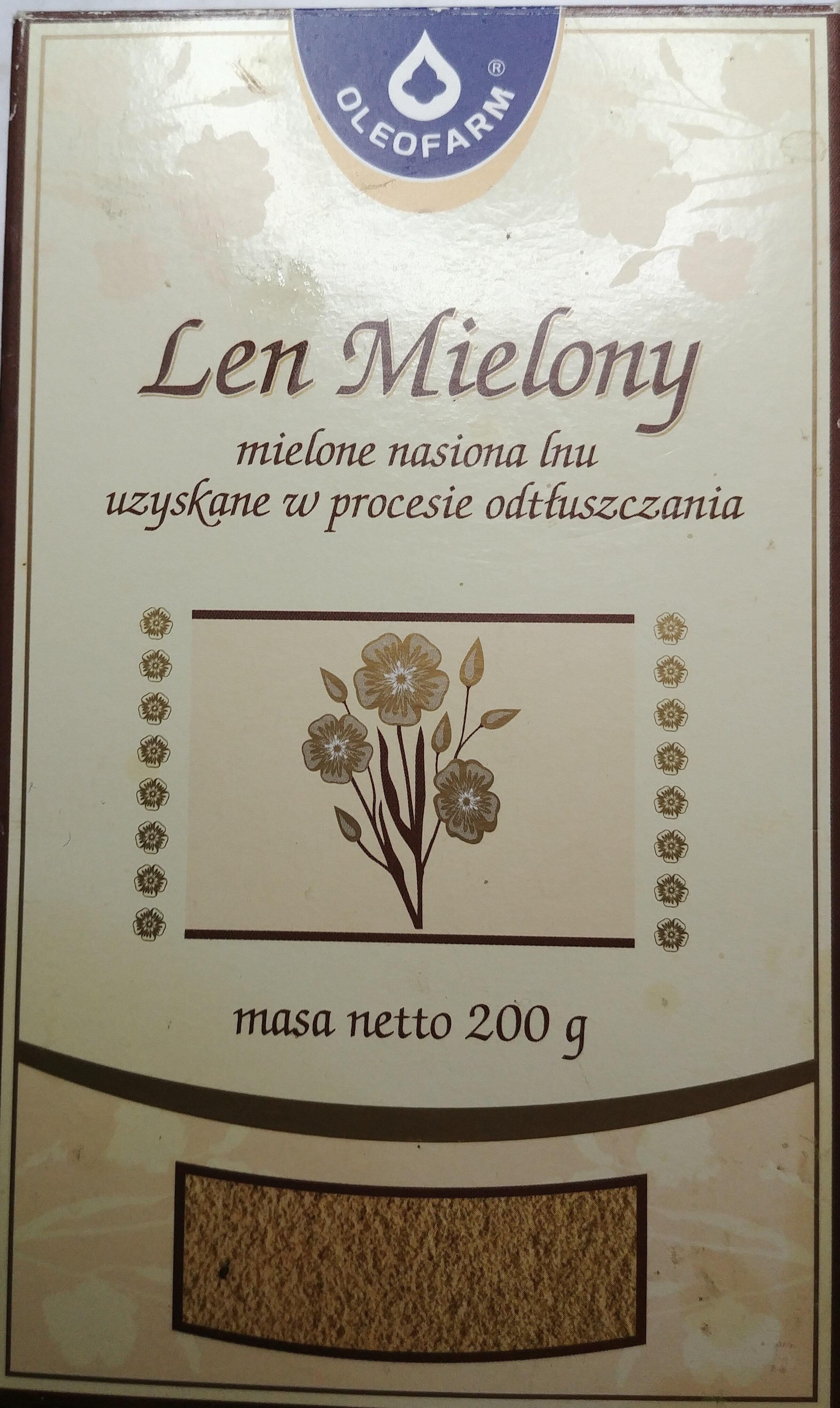 Len mielony - Product - pl