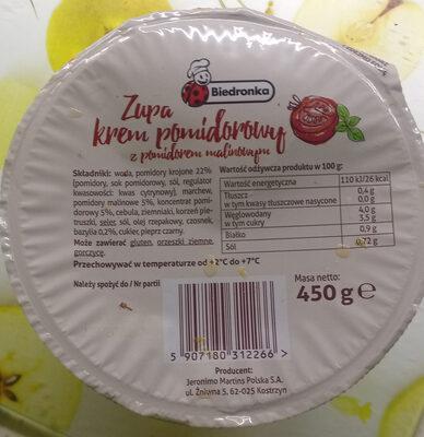 Zupa krem pomidorowy - Produit - pl