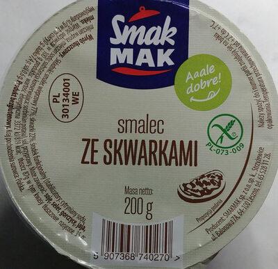 Smalec ze skwarkami - Product - pl