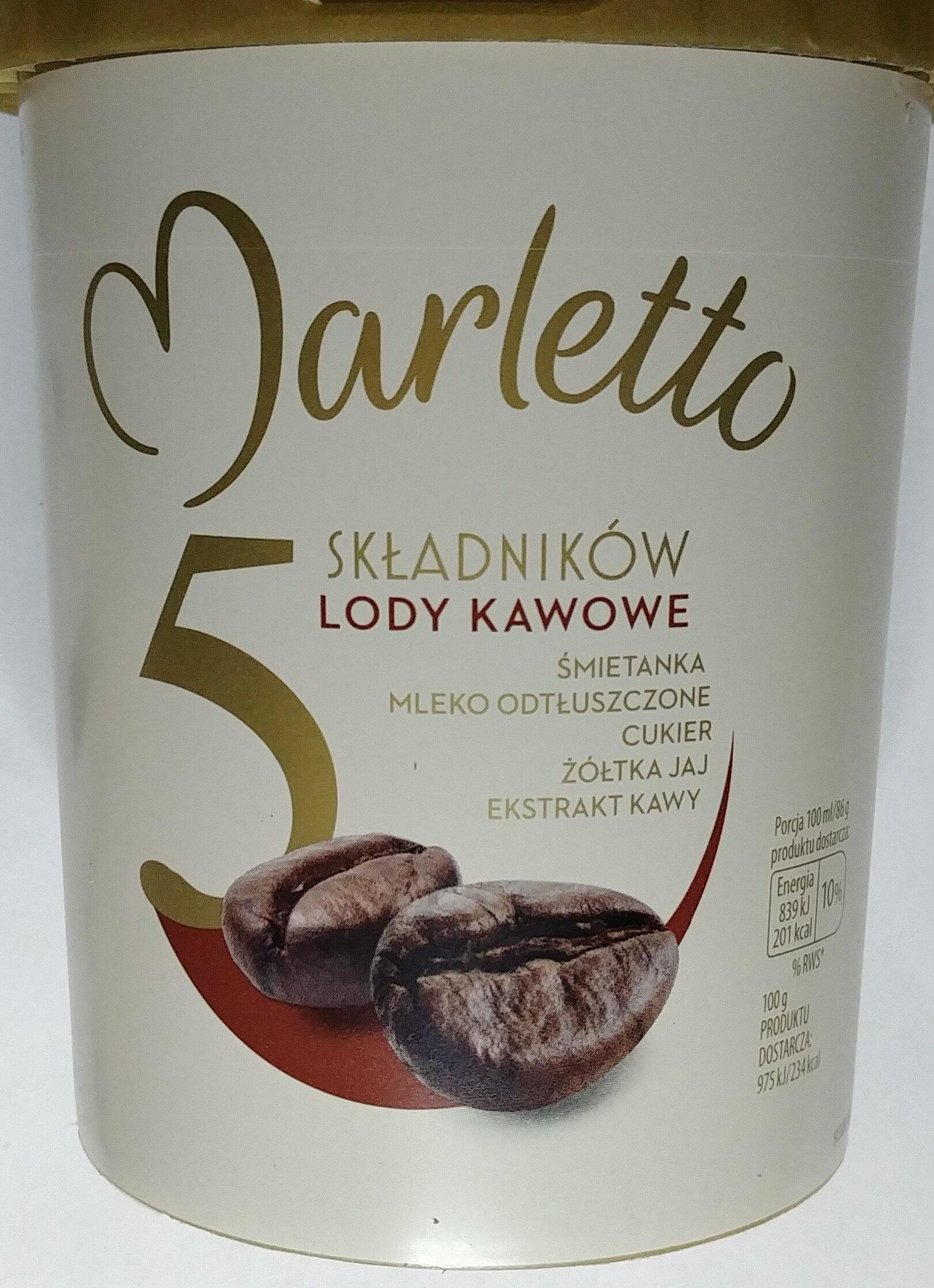 Lody kawowe - Produkt - pl