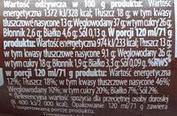 rożek z czekoladą - Informations nutritionnelles - pl