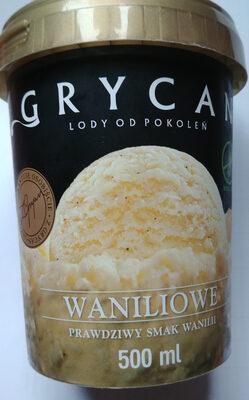 Lody waniliowe - Produkt - pl