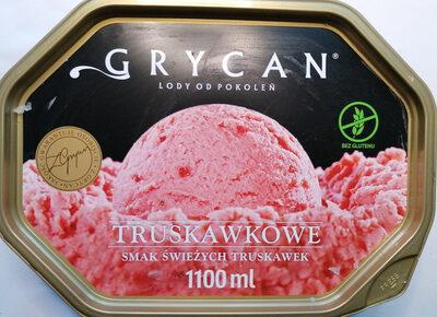 Lody truskawkowe - Produkt - pl