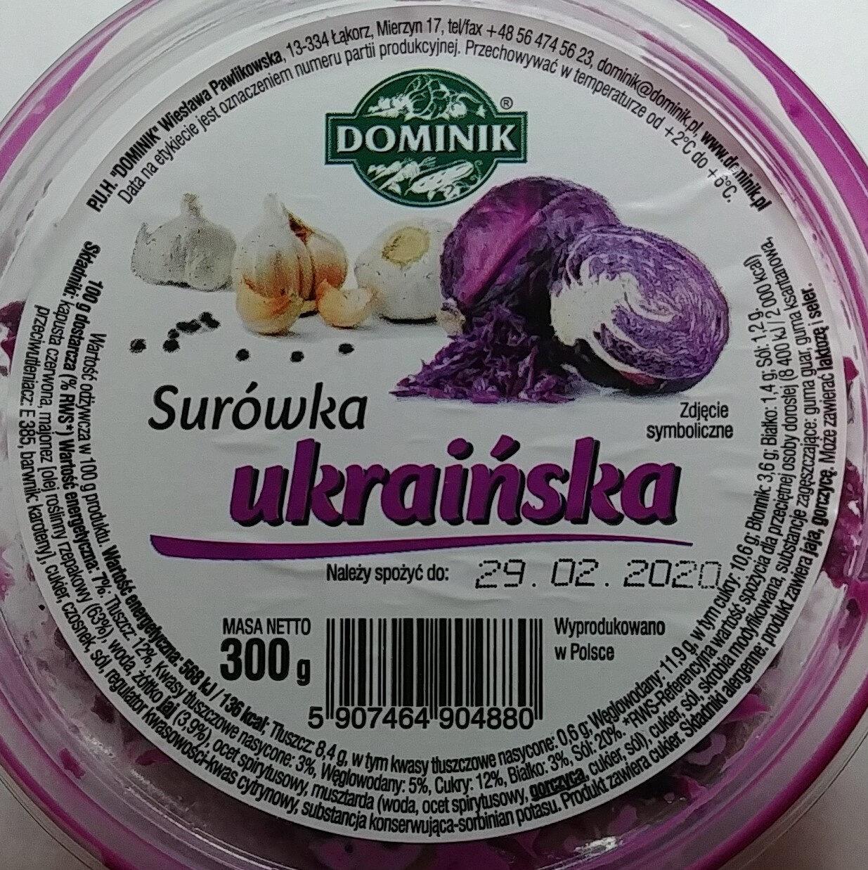 Surówka ukraińska - Produkt - pl