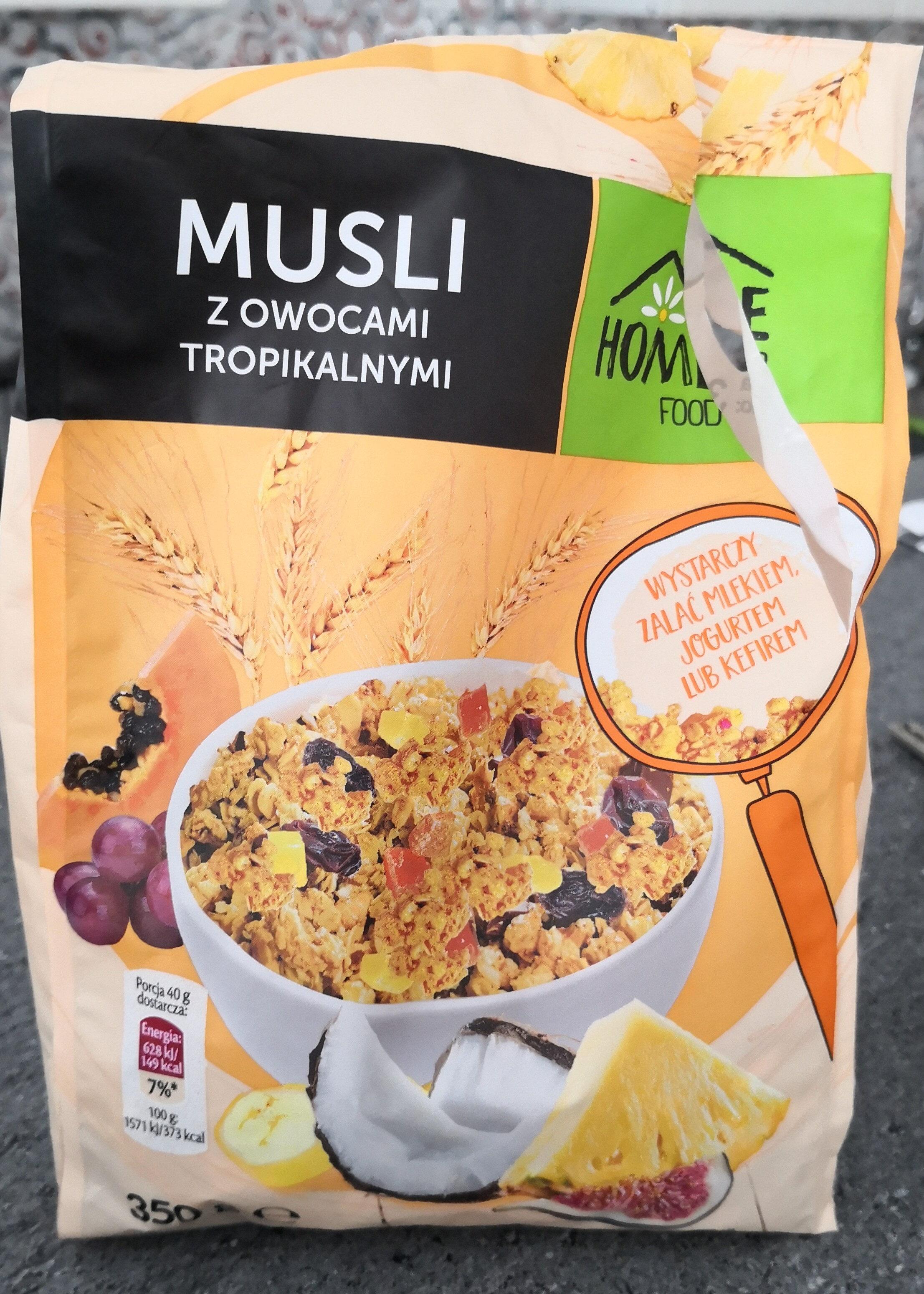 Muslim z owocami tropikalnymi - Produkt - pl