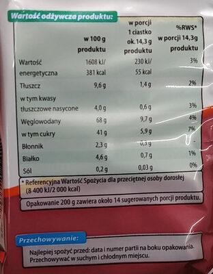 - Wartości odżywcze