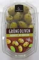la Campagna Grüne Oliven, mariniert, mit Kräutern - Produkt - de