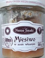 Mięsiwo w sosie własnym - Produkt - pl
