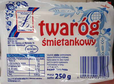 Twaróg śmietankowy - Produkt - pl