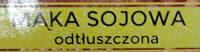 Mąka sojowa odtłuszczona - Składniki
