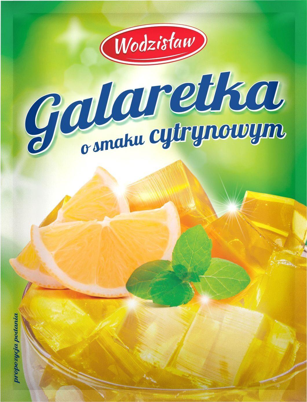 Galaretka o smaku cytrynowym - Product - pl
