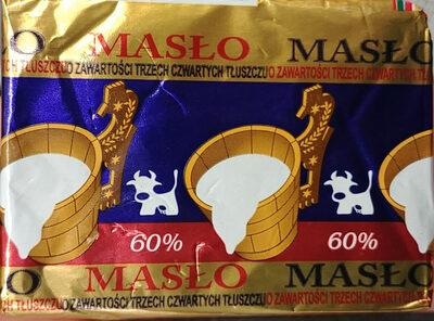 Masło o zawartości trzech czwartych tłuszczu. - Produkt - pl