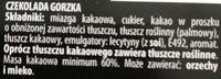 Union Chocolate Gorzka - Ingredientes - pl