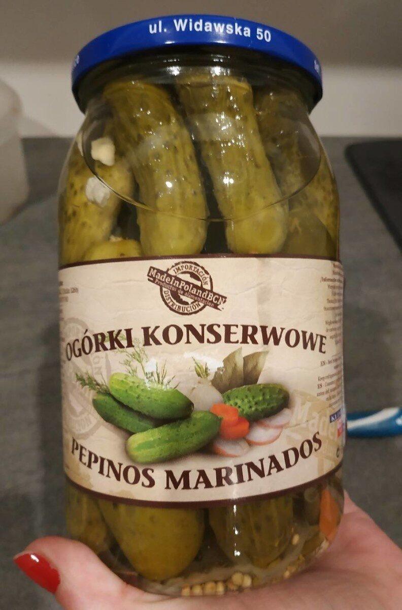 Pepinos Marinados - Produit - es