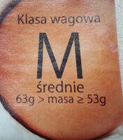 Jajka M - Ingredients - pl