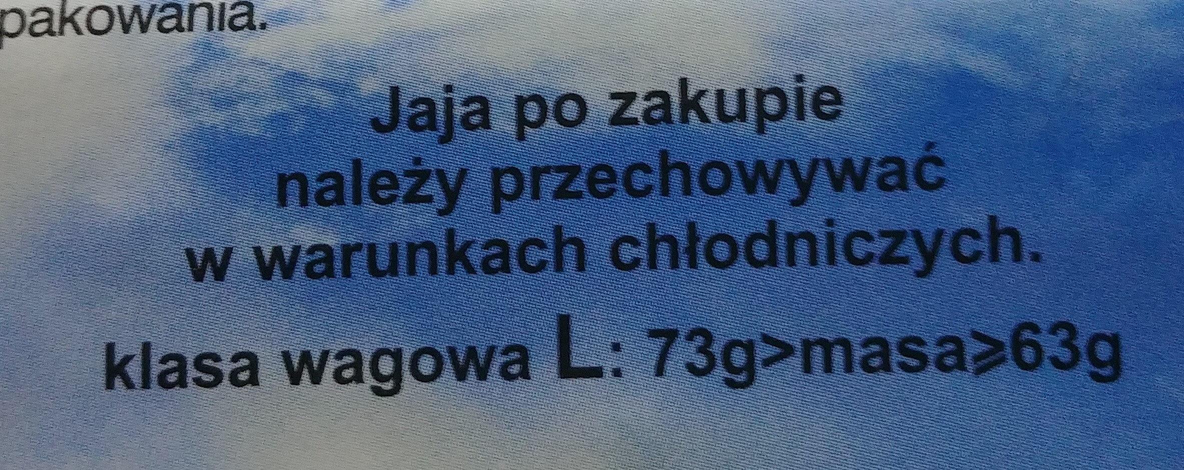 Jajka L - Ingrediënten - pl