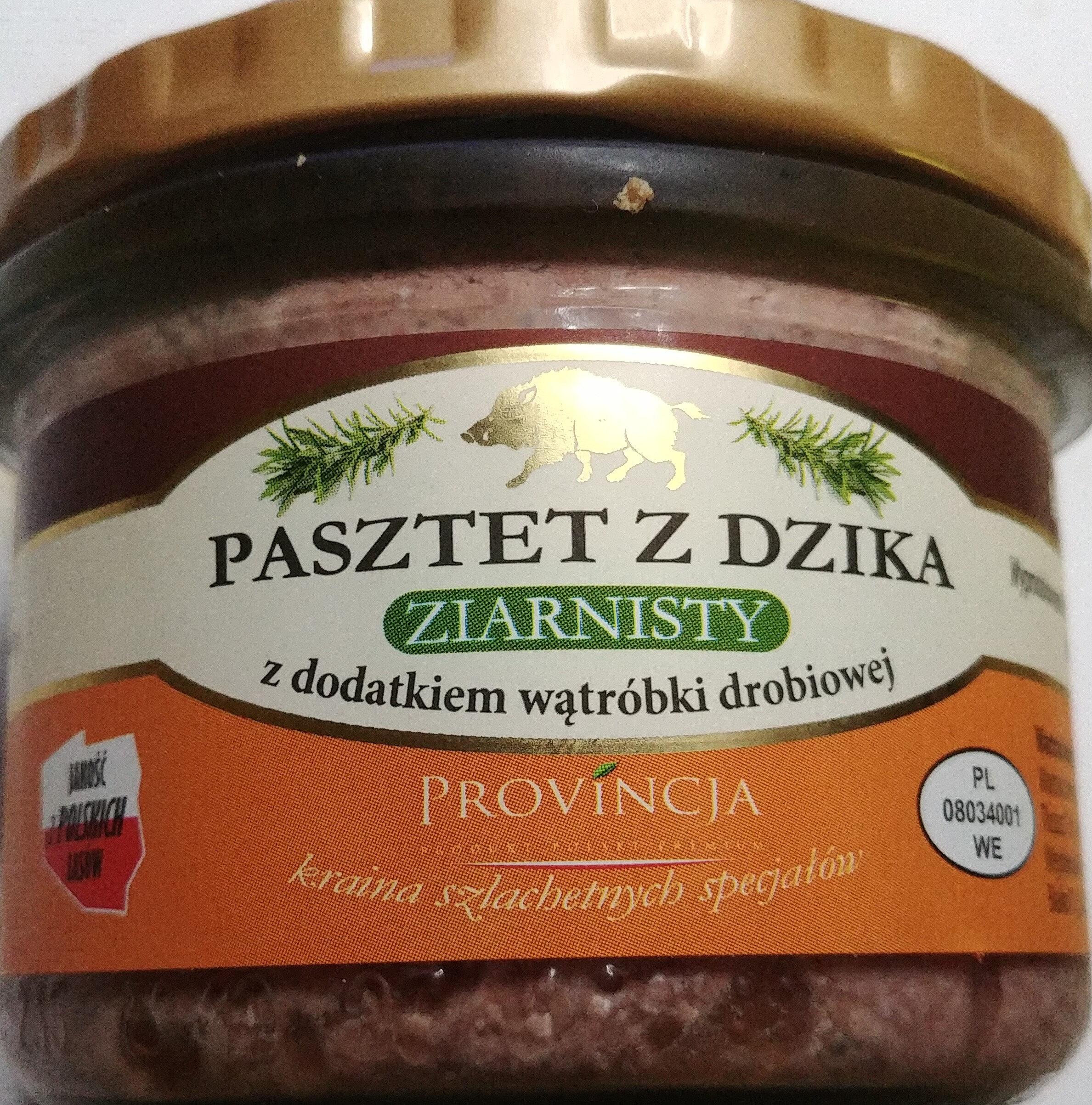 Pasztet z dzika z wątróbką drobiową - Produkt - pl