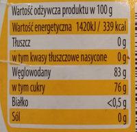 Huzar Miod Wielokwiatowy - Wartości odżywcze - pl