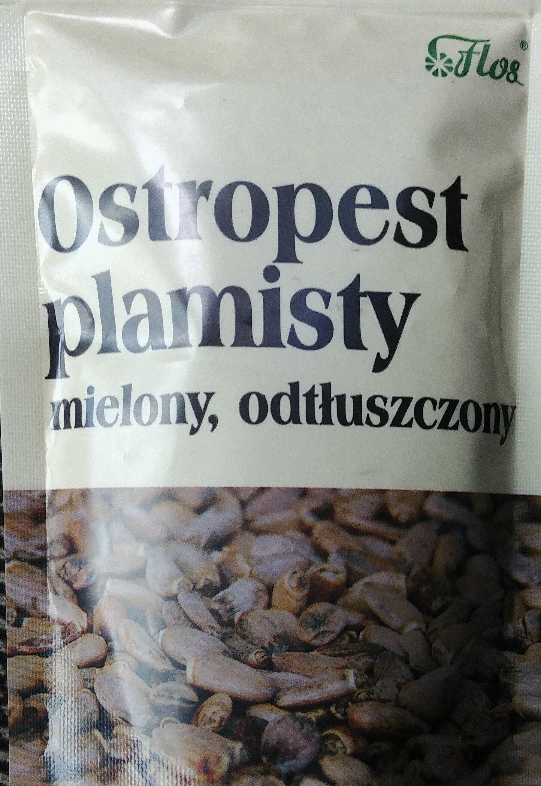Ostropest plamisty mielony, odtłuszczony. - Product - pl