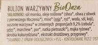 Bulion warzywny - Składniki - pl