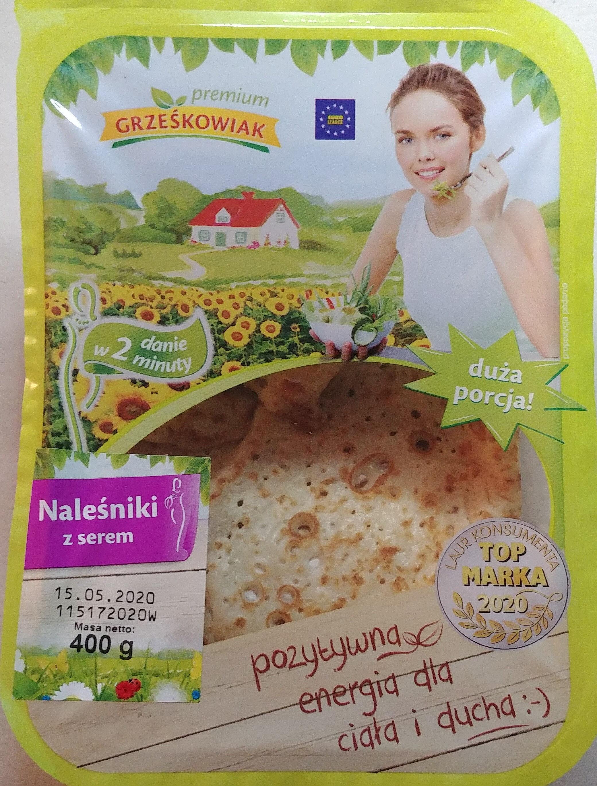 Naleśniki z serem twarogowym - Product - pl