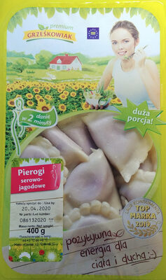 Pierogi serowo-jagodowe - Product - en