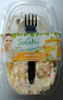 Sałatka na bazie warzyw gotowanych z jajkiem i szczypiorkiem - Produkt - pl