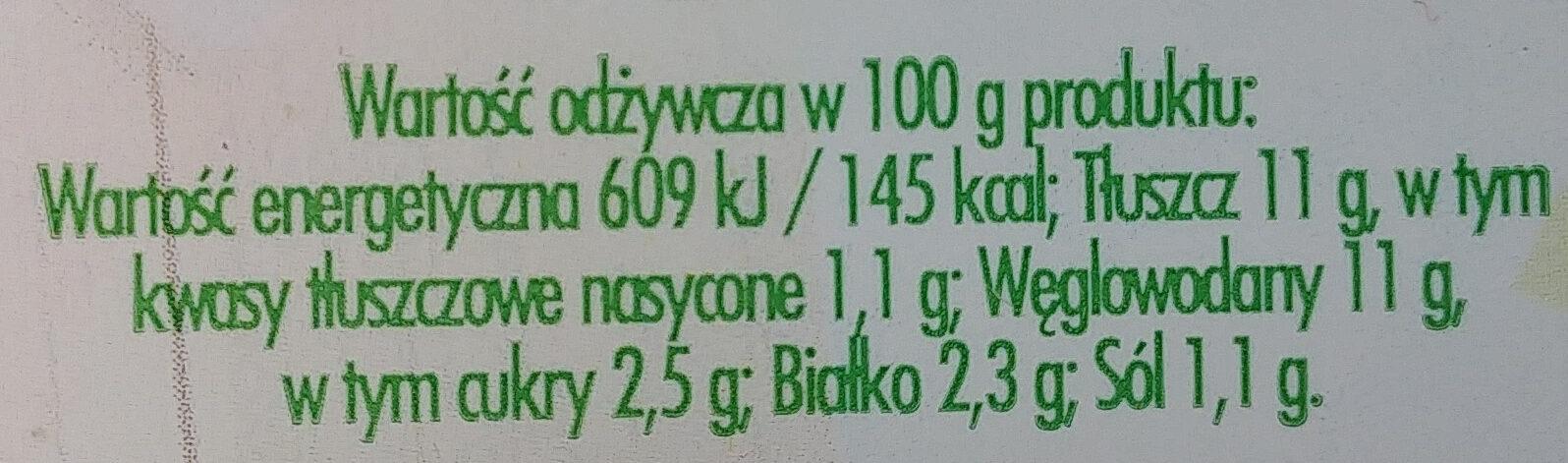 Sałatka na bazie warzyw gotowanych z jajkiem i szczypiorkiem - Wartości odżywcze - pl