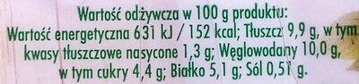 Sałatka na bazie warzyw gotowanych i świeżych z dodatkiem kebabu drobiowowego oraz sosu shoarma - Wartości odżywcze - pl