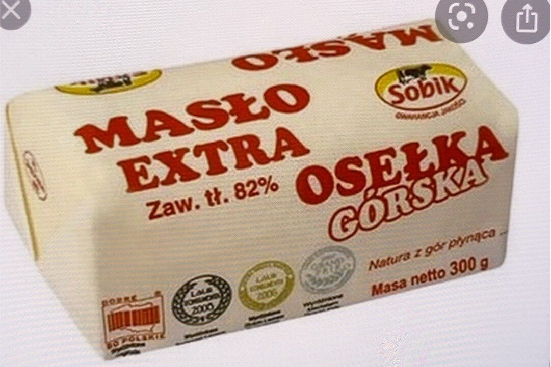 Maslo extra Oselka Gorska - Produkt - pl