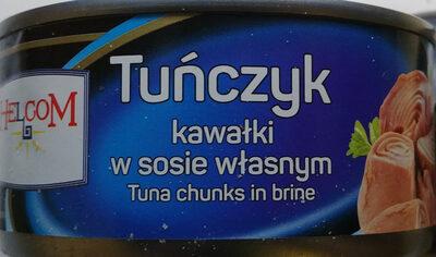 Tuńczyk kawałki w sosie własnym. - Produkt