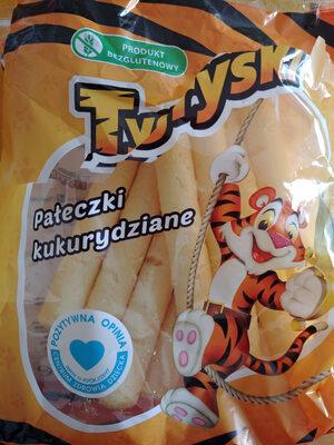 Tygryski pałeczki kukurydziane - Produkt - pl