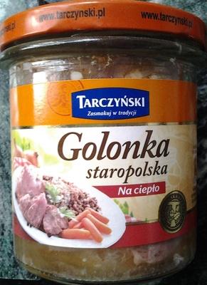 Golonka staropolska - Produkt