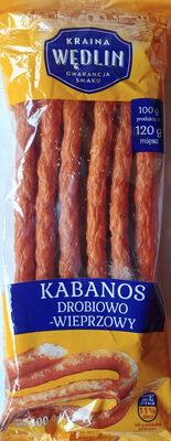 Kabanos drobiowo-wieprzowy - Produkt
