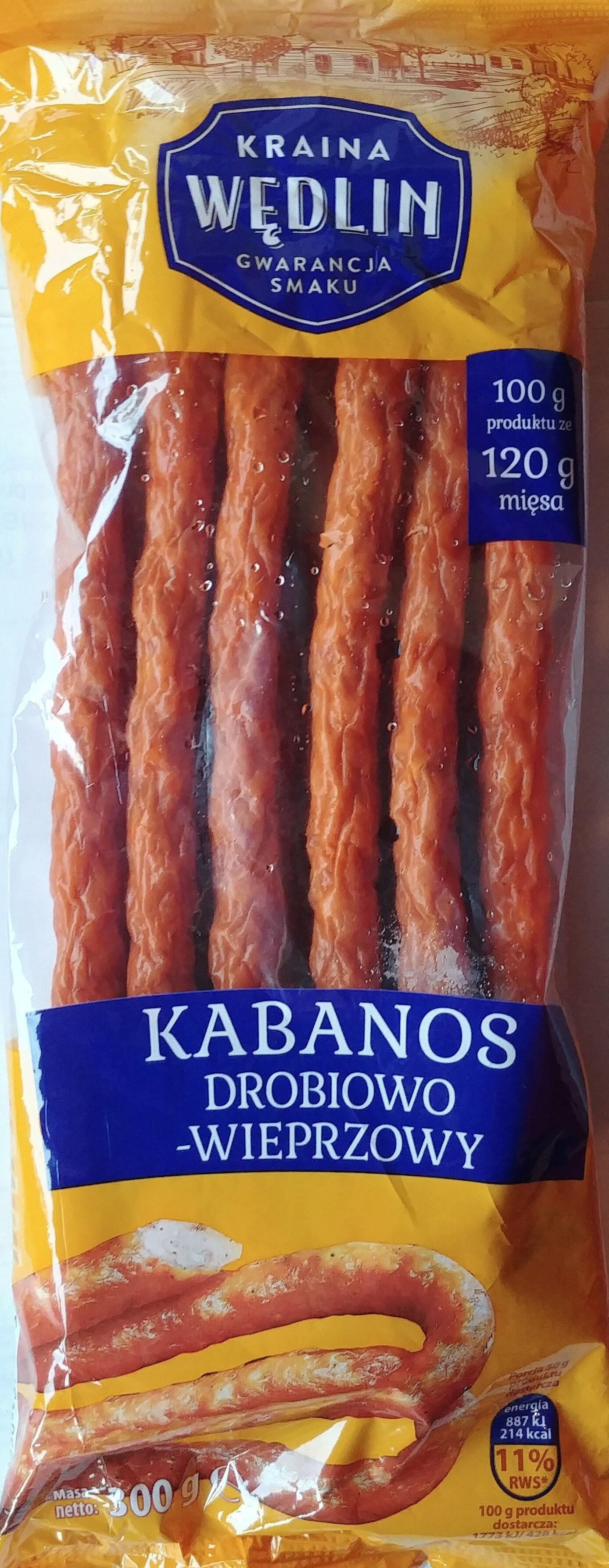 Kabanos drobiowo-wieprzowy - Produkt - pl