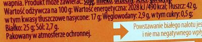 Kabanos excellence z indyka z dodatkiem wieprzowiny - Nutrition facts - pl