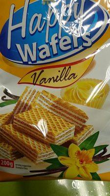 Gaufrettes vanille - Produit - fr