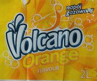 Napój gazowany o smaku pomarańczowym na bazie wody źródlanej. - Produkt - pl
