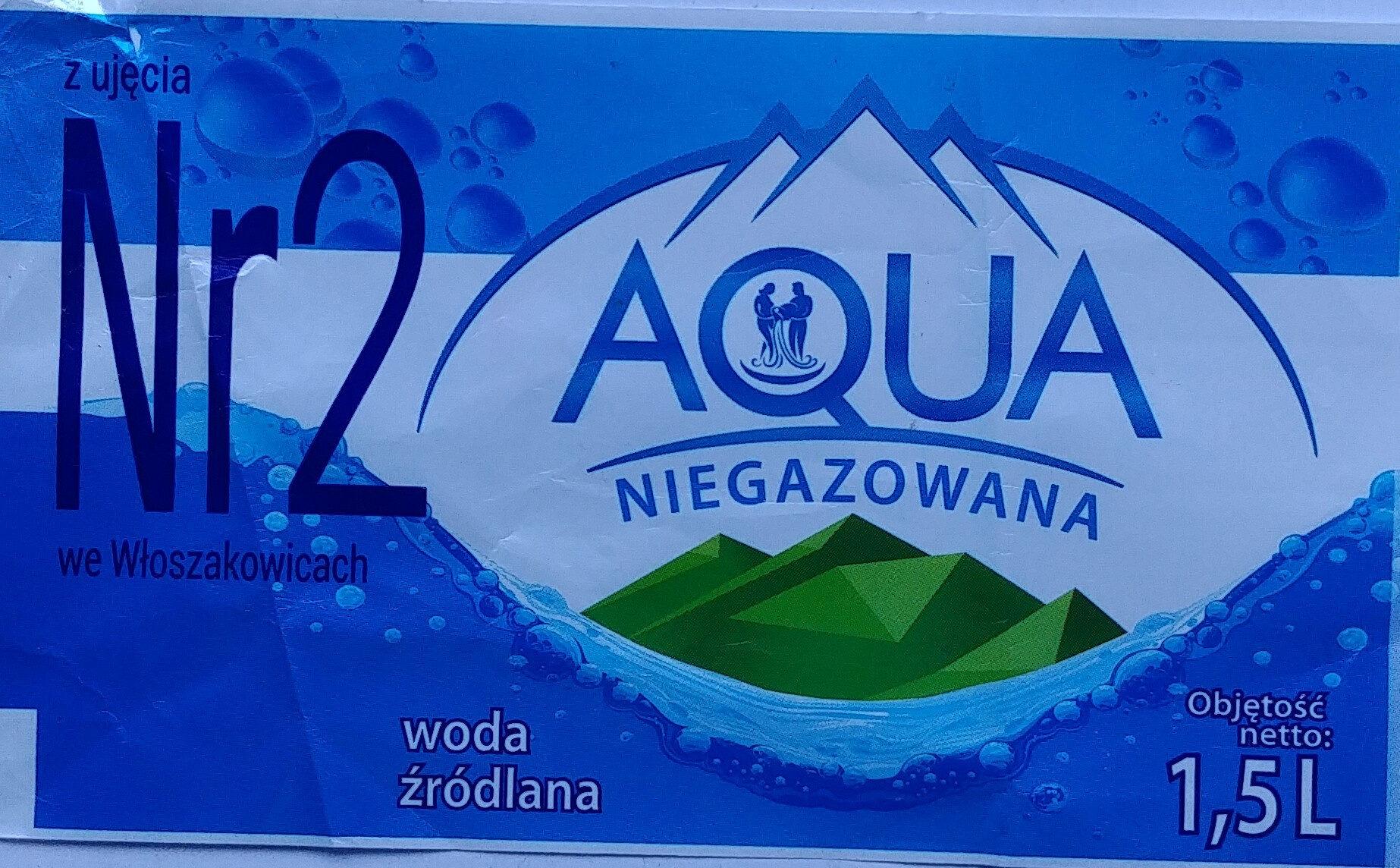 Niegazowana woda źródlana nienasycona CO2 - Produkt - pl