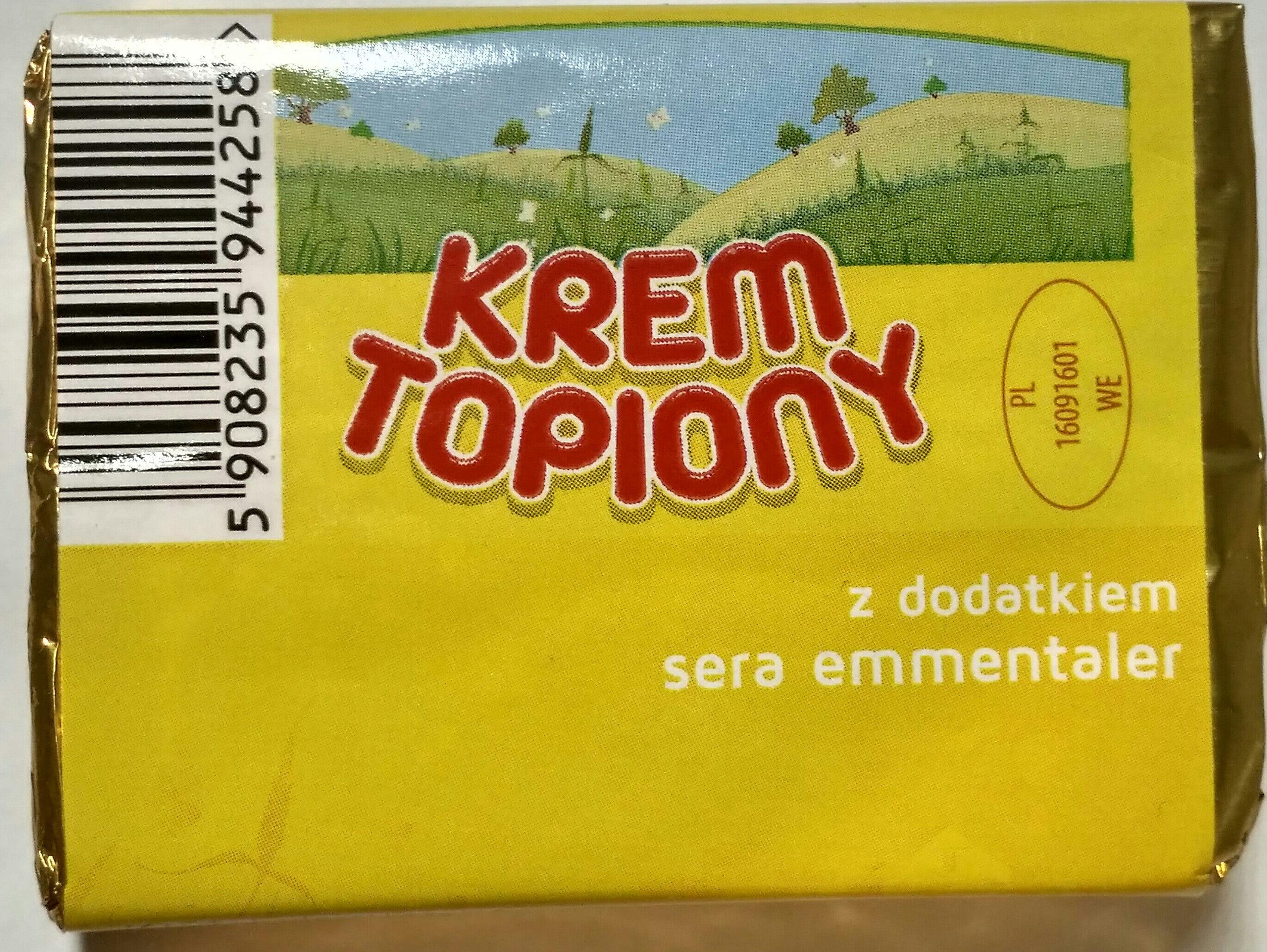 Krem topiony z dodatkiem sera emmentaler - Product - pl