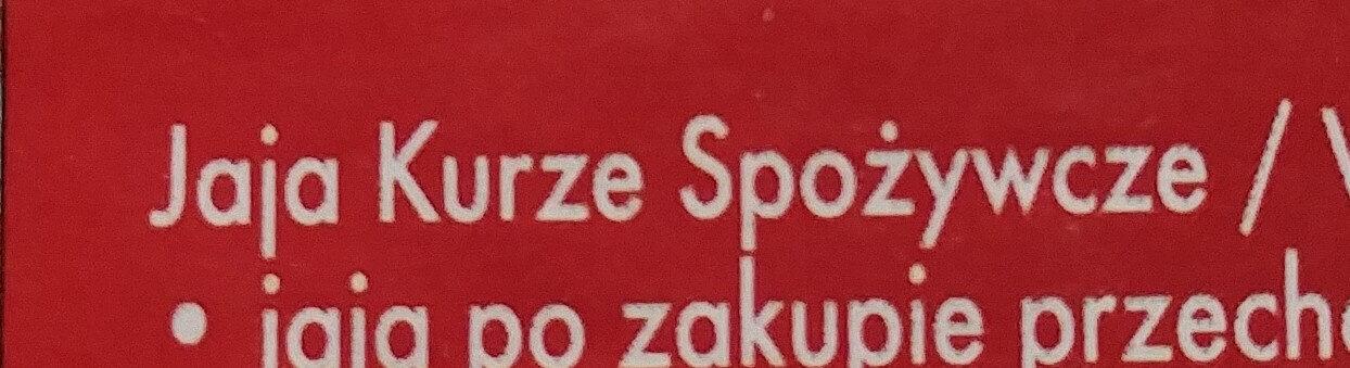 Jaja kurze M - Ingredients - pl