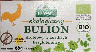 Bulion ekologiczny, drobiowy w kostkach - Produkt - pl