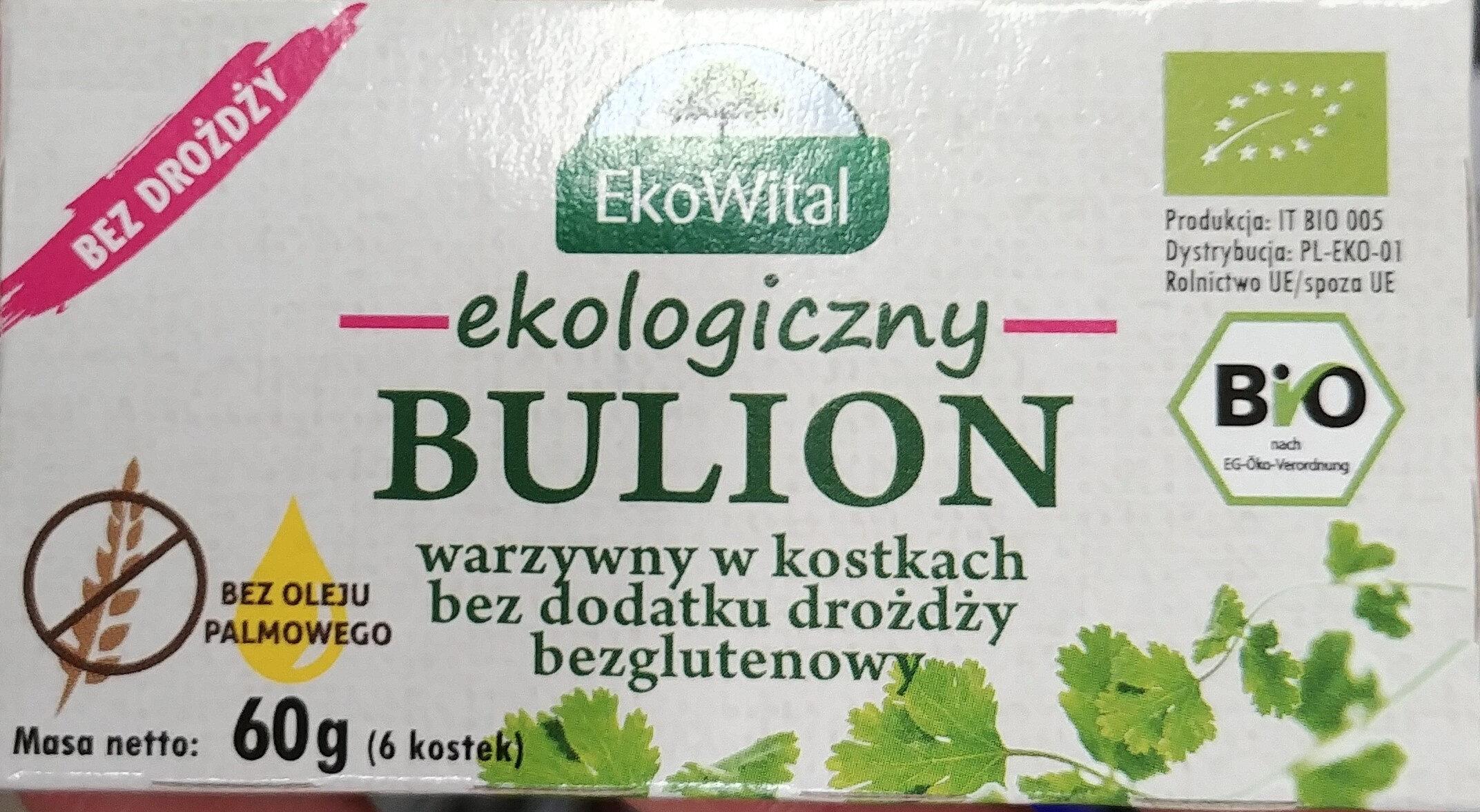 Bulion ekologiczny, warzywny w kostkach - Produkt - pl
